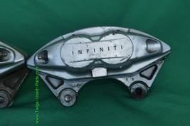 08-15 Infiniti G37 Oem Akebono Big Brake Front Calipers Bbk Ipl Q50 Q60 image 2