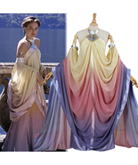Star Wars Padme Naberrie Amidala Royal Lake Dress Cosplay Costume - $128.69+