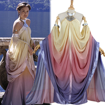 Star Wars Padme Naberrie Amidala Royal Lake Dress Cosplay Costume - £100.56 GBP+