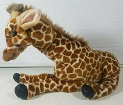 Folktails Folkmanis Full Body Plush Giraffe Hand Puppet Stuffed Animal Realistic - $33.94