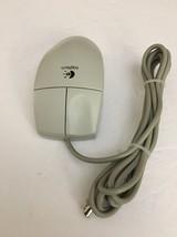 Logitech PS/2 M-S34 76H5080 76H5078 Rare Mouse 2 BUTTON-12093-Vintage Rare - $18.69