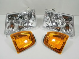 For 2001-2005 Ford RANGER Headlights and park turn signal lamps Lights Headlamps - $117.80
