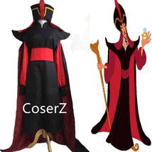 Custom Aladdin Jafar Villain Costume, Jafar Villain Cosplay Halloween Co... - $99.00