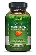 Irwin Naturals Six Tea Ancient Energy, 60 Count - $22.66