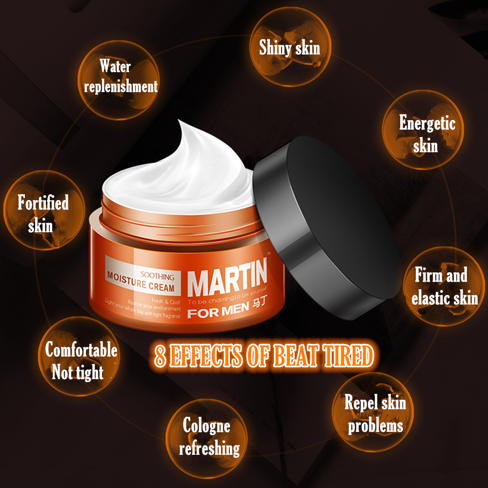 MARTIN Men's Moisturizing Refreshing Anti-Wrinkle Anti-aging Face Cream