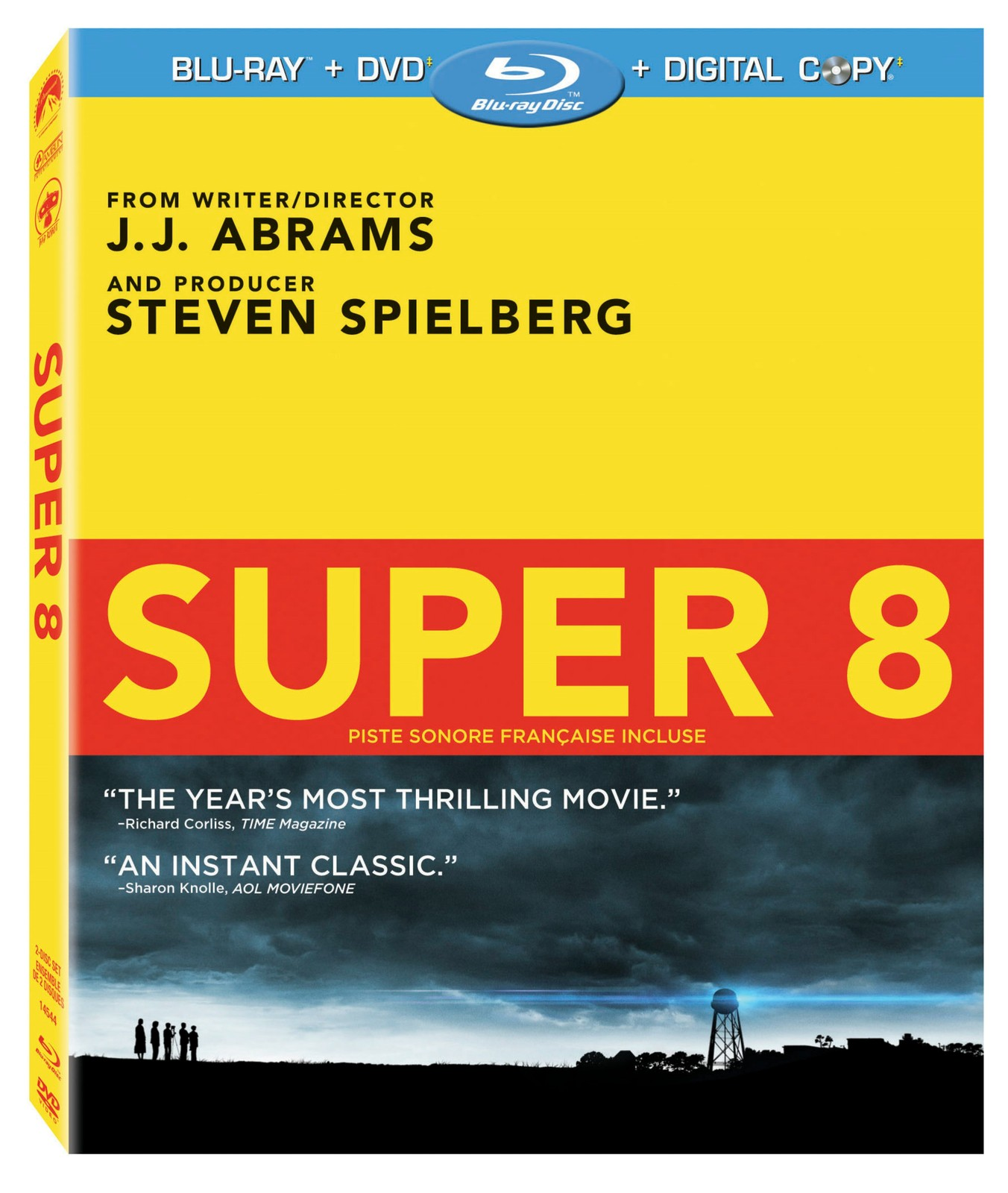 Super 8 (Blu-ray/DVD, 2011, 2-Disc Set)
