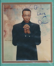 Arsenio Hall nicely double matted signed color photo. - $14.95
