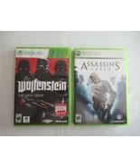 Wolfenstein The New Order (Microsoft Xbox 360, 2014) Complete + Assassin... - $15.49