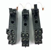 Lot of 3 Allen-Bradley CAT 700-HN122 / 1662EW AB Ser A Relay Socket 5A 250VAC - $23.38