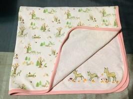 Gymboree September Autumn Forest Baby Stroller Crib Blanket HTF - $47.52