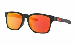 Oakley Sunglasses Catalyst OO9272-2555 Matte Black /Prizm Ruby Lens - $84.14
