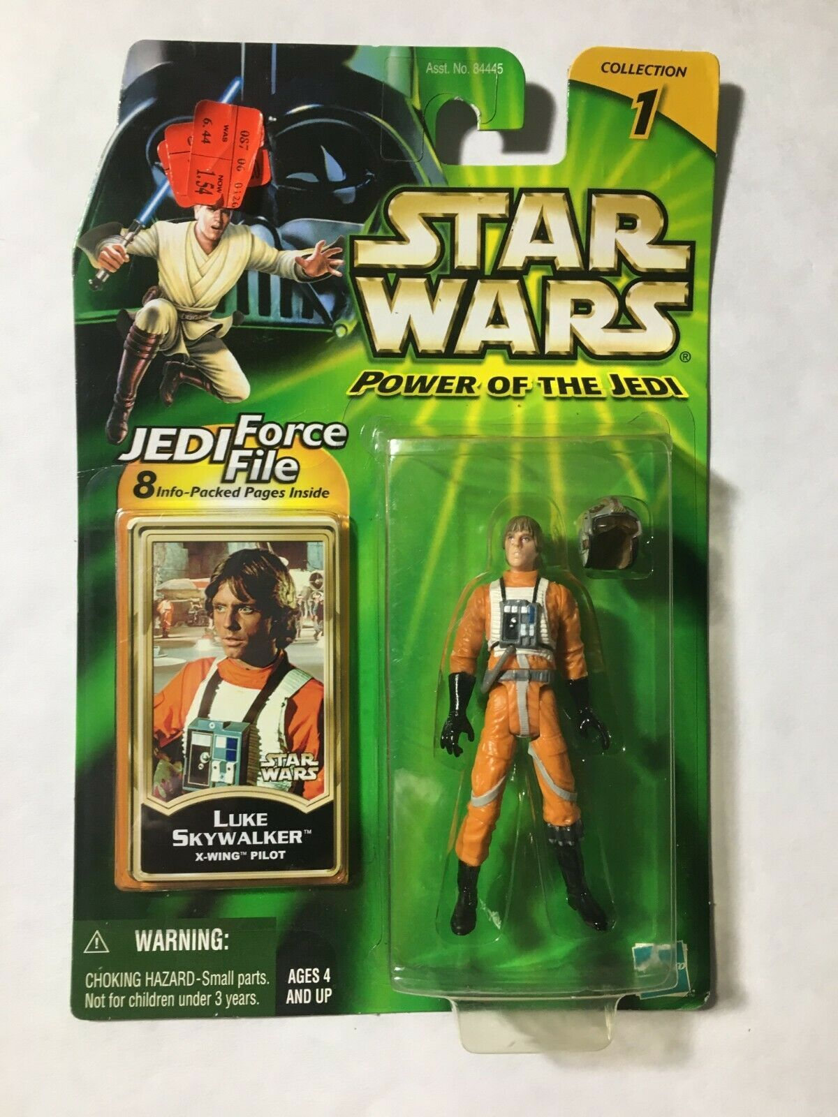 Primary image for Star Wars 2000 POTJ Collection 1 Luke Skywalker X-Wing Pilot Green Card