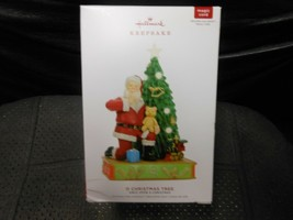 "Hallmark Keepsake ""O Christmas Tree"" 2019 Light/Sound Ornament NEW SEE D... - $18.07"