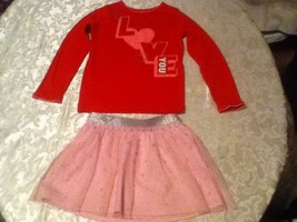 Girls-Lot of 2-Size 6X-Carters sweater/top-Circo-Size 6/6X skirt-Easter - $14.99