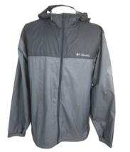Columbia mens windbreaker hoodie jacket zip up sz XL Nylon - $27.71