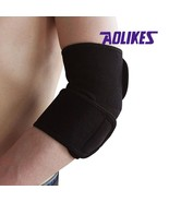 AOLIKES 1 Pair Adjustable Elbow Support Pads Sports Safety coderas Prote... - $4.25