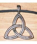 Triskele Trinity Celtic Visions Metal Pendant Necklace, NEW UNUSED - $9.74