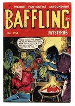 Baffling Mysteries #23 1954-Golden Age horror- Werewolf- Bound Woman cov... - $363.75