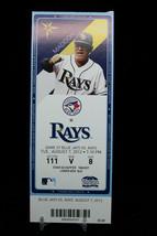 Toronto Blue Jays vs Tampa Rays Game 57 MLB Ticket w Stub 08/07/2012 Maddon - $8.17