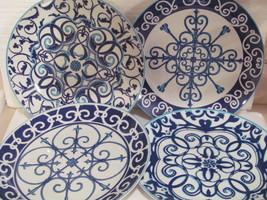 Set of 4 Ambiance Seville Dinner Plates  NOS - $40.00