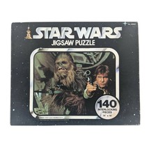 1977 Star Wars Jigsaw Puzzle 140 Piece Han Solo Chewbacca INCOMPLETE (13... - $17.36