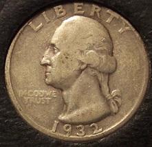 1932-D Washington Silver Quarter VF KEY DATE #0234 - $215.99