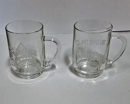 Joe Camel Cigarettes Glass Beer or Coffee Mugs Lot of 2 - $37.03
