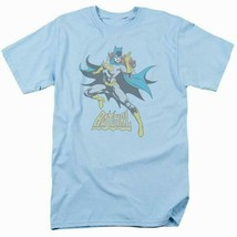 Batgirl T-shirt SuperFriends retro 80s cartoon DC blue graphic tee DCO553 image 2
