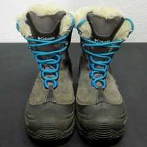 Columbia OMNI-HEAT Women's (4 Us) Brown Suede Faux Fur LACE-UP Winter Snow Boots - $42.69