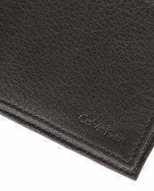 NEW CALVIN KLEIN CK MEN'S LEATHER BIFOLD ID WALLET KEY CHAIN SET BROWN 79080 image 6