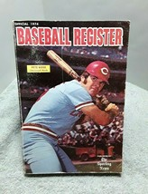 1974 Sporting News Baseball Register Annual Book Pete Rose Reds Willie S... - $13.85