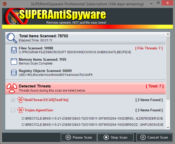 SUPER AntiSpyware Professional [1 year license)