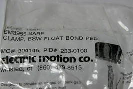 Electric Motion EM3955-BARP Clamp, BSW Float Bond Ped New Pack of 5 image 2
