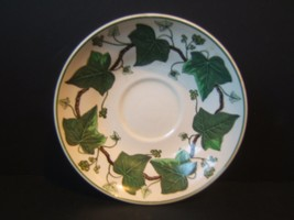 """Wedgwood Napoleon Ivy 5.5"""" Saucer A L 4751 Green Queen's Ware - $7.67"""