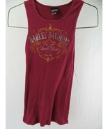 Harley Davdison Motorcycles Live To Ride Sturgis Tank Top Women's T-Shir... - $12.86