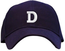 Letter D Initial Embroidered Pro Sport Baseball Cap - Available in 7 Col... - $25.95
