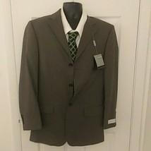 NEW Mens Geoffrey Beene sport coat blazer suit jacket 40R taupe $199 - $28.71