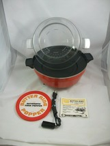 Vintage Butter Ring Automatic Corn Popper 1970's Sears Electric Popcorn ... - $29.96