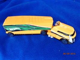 Vintage Hot Wheels Orange Semi Truck Mattel - $8.59