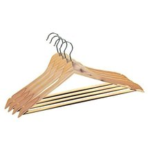 Cedar Suit Hangers 4 pack - Absorb moisture and Eliminate odors in your ... - $20.00