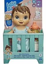Baby Alive Baby Gotta Bounce Doll Brand New Brown Hair - $25.73