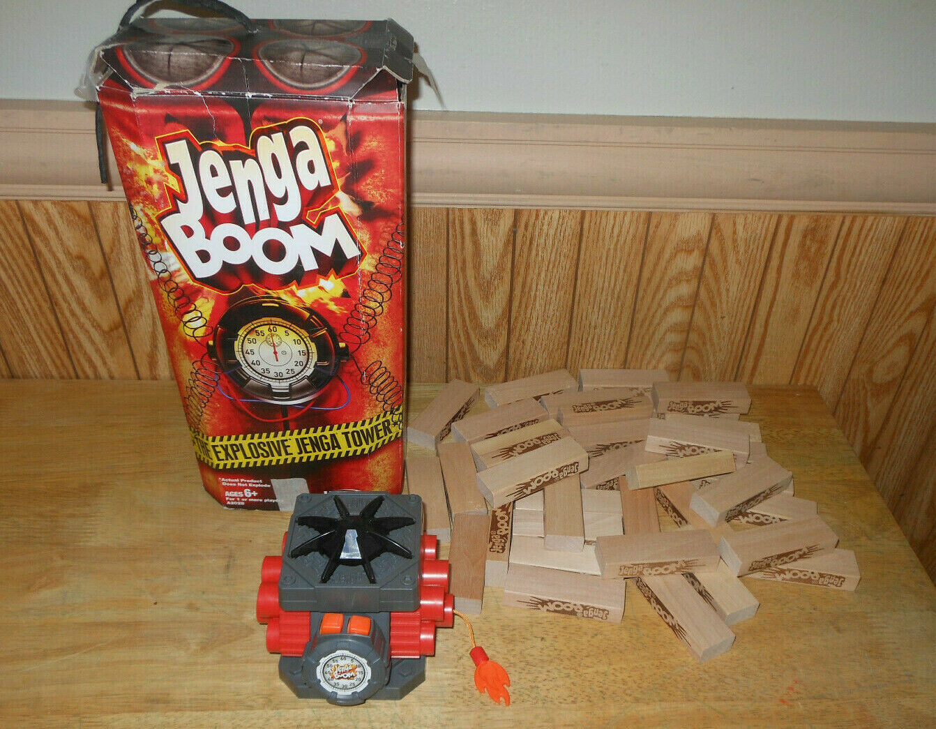 Primary image for Jenga Boom Puzzle Defeat The Puzzle Before The Puzzle Defeats You Bang Complete