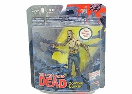 The Walking Dead action figure toy MOC sealed Zombie Lurker 2011 body sp... - $39.55