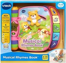 VTech Musical Rhymes Book Pink - $23.76