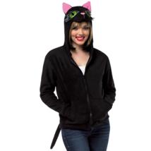 Rasta Imposta Ha Ha Hoodie Unisex Black Cat Hoodie Adult Size Xl - £28.90 GBP