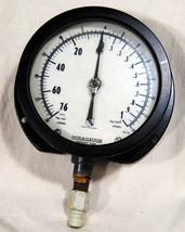 Ashcroft Duragauge Pressure Water Steam Industrial USA Steampunk Rat Rod... - $26.92