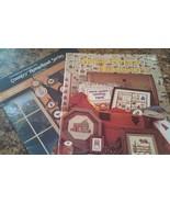 Set of 2 Counted Cross Stitch Pattern Books w/Home Theme MEL-035 - $2.41