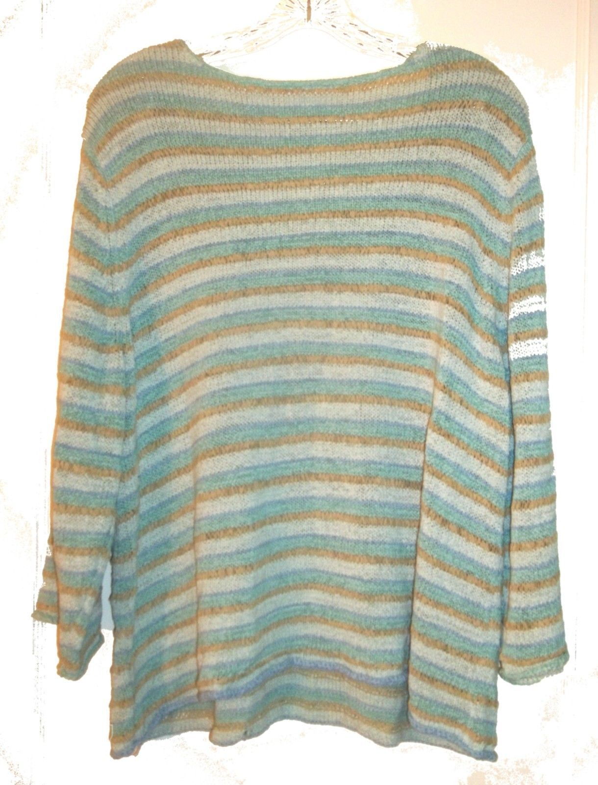 Size XL - Plus Size 3X ~ Villager Long Sleeve Sweaters, some with Beaded Accents image 10
