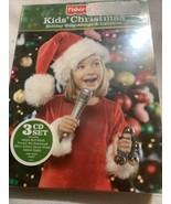 Fisher-Price kids Christmas holiday sing-along and lullabies 3 CD set - $8.72