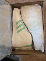 Adidas Originals Pro Model BY3728 Size 10 White/ Easter Green/ Gold - $48.37